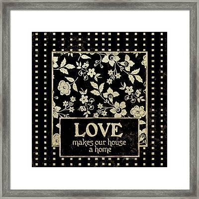 Love Framed Print by Jo Moulton
