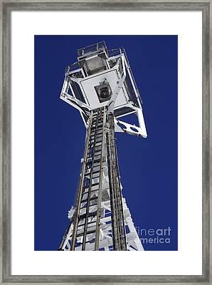 Lovell Radio Telescope Receiver Framed Print