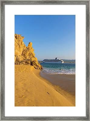 Lovers Beach, Cabo San Lucas, Baja Framed Print