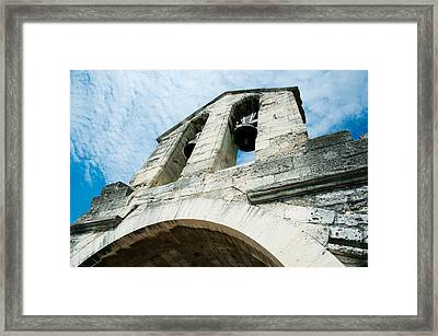 Low Angle View Of A Bell Tower Framed Print by Panoramic Images