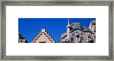 Low Angle View Of A Building, Casa Framed Print by Panoramic Images