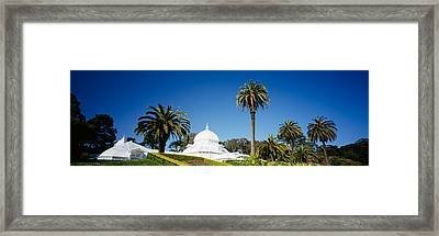 Low Angle View Of A Building Framed Print by Panoramic Images