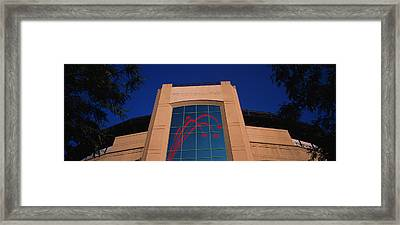 Low Angle View Of A Building, U.s Framed Print