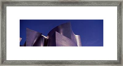 Low Angle View Of A Concert Hall, Walt Framed Print by Panoramic Images