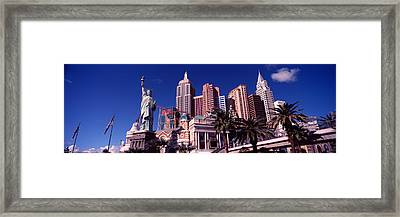 Low Angle View Of A Hotel, New York New Framed Print by Panoramic Images