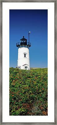 Low Angle View Of A Lighthouse, Race Framed Print by Panoramic Images