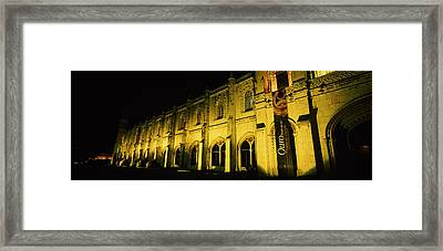 Low Angle View Of A Monastery, Mosteiro Framed Print