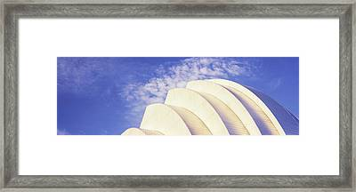 Low Angle View Of An Entertainment Framed Print