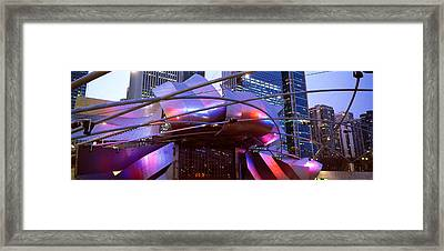 Low Angle View Of Jay Pritzker Framed Print