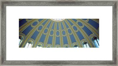 Low Angle View Of The Ceiling Framed Print