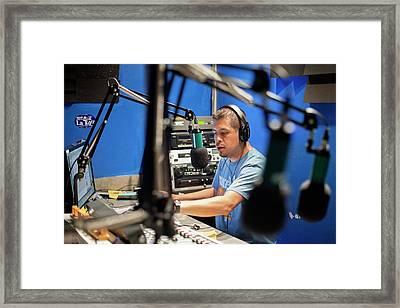 Low Power Community Radio Framed Print