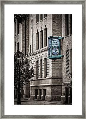Lowell High School Framed Print