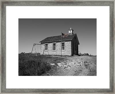 Lower Fox Creek School Framed Print by Chris Harris