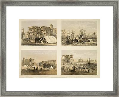 Lucknow Framed Print by British Library