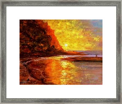 Lullaby.. Framed Print