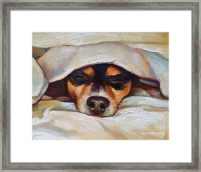 Lulu Framed Print by Robert Phelps