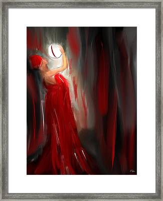 Luna Within Framed Print by Lourry Legarde