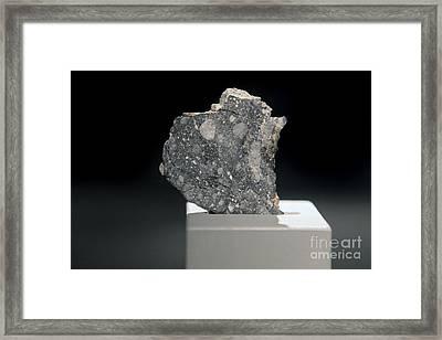 Lunar Meteorite Framed Print