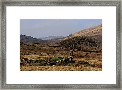Maam Valley Framed Print