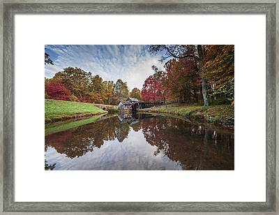 Mabry Mill Framed Print