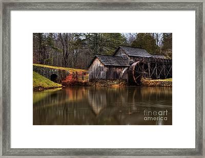 Mabry Mill Framed Print by Robert Loe
