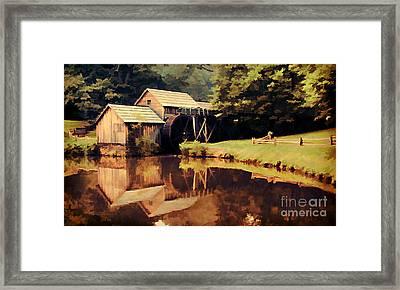 Mabrys Mill Framed Print by Darren Fisher