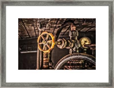 Machine Part Framed Print by Dobromir Dobrinov
