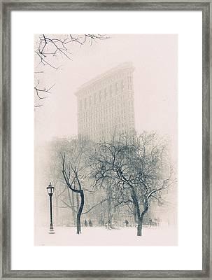 Madison Square Park Framed Print by Jessica Jenney