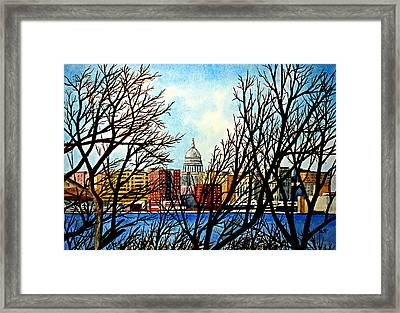 Madison Treed Framed Print
