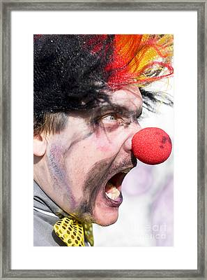 Madness The Clown Framed Print