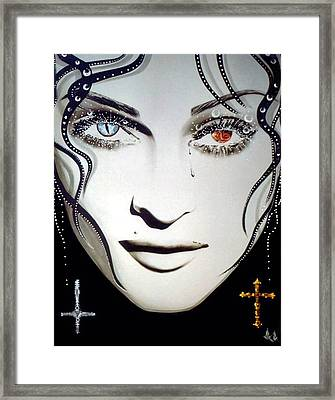 Madonna Framed Print by Alicia Hayes