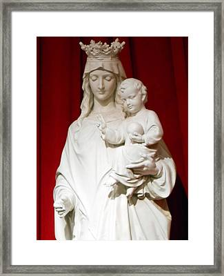 Madonna And Child Framed Print by Michael Durst