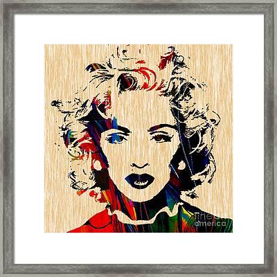 Madonna Collection Framed Print