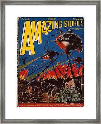 Magazine Cover 1926 Framed Print by Granger