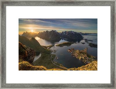 Magic Moment Framed Print