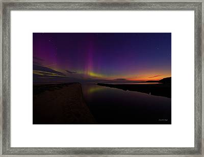 Magic On The Lake Framed Print by Everet Regal
