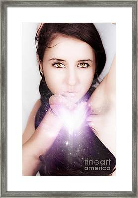 Magical Love Kisses Framed Print by Jorgo Photography - Wall Art Gallery