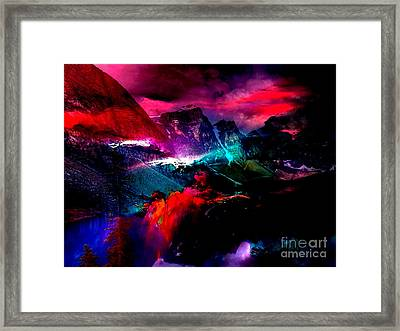 Magical Moments Framed Print