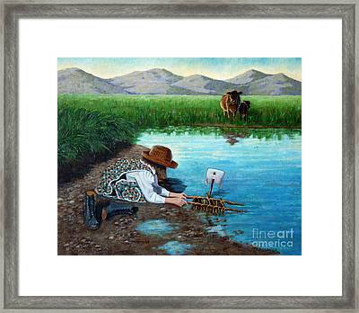 Maiden Voyage Framed Print by Carolyn Kollegger