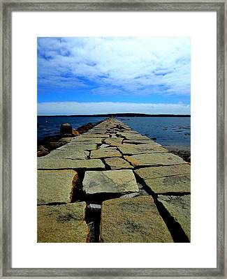 Maine  Framed Print by Dancingfire Brenda Morrell