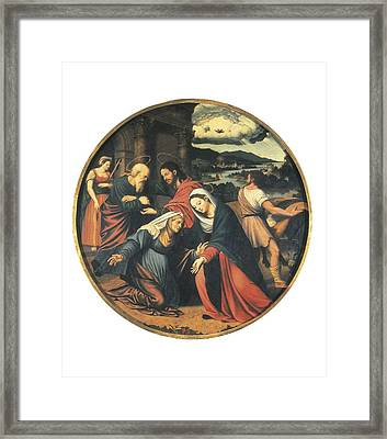 Ma�ip, Vicente 1480-1550. The Framed Print