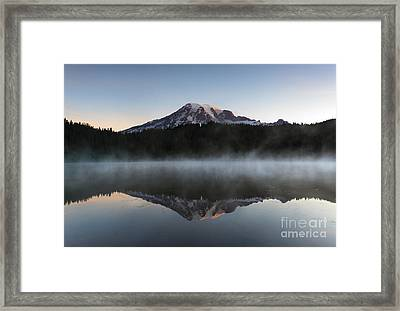 Majestic Dawn Framed Print by Mike Dawson