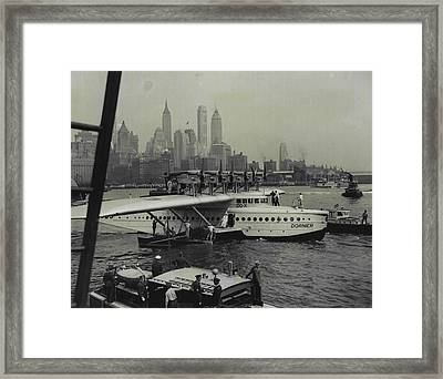 Majestic Giant Of The Air Framed Print by Retro Images Archive