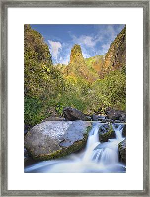 Framed Print featuring the photograph Majestic Iao Needle by Hawaii  Fine Art Photography