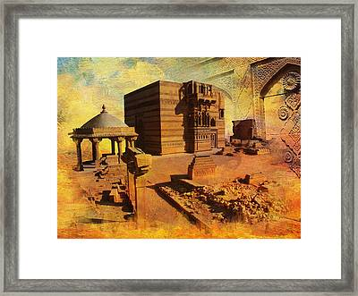 Makli Hill Framed Print by Catf