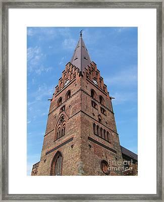 Malmo Church 02 Framed Print by Antony McAulay