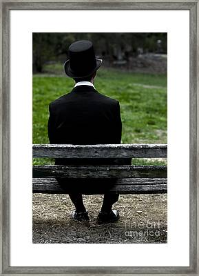 Man From The Past Framed Print by Jorgo Photography - Wall Art Gallery
