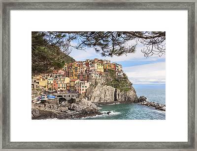 Manarola Framed Print by Joana Kruse