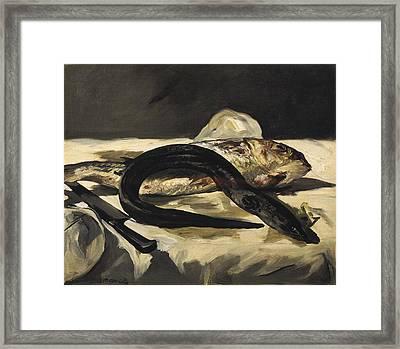 Manet, �douard 1832-1883. Still Life Framed Print by Everett