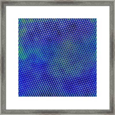 Manganese Oxide Nanoparticle Framed Print